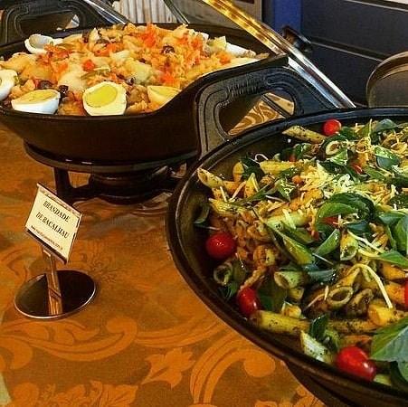 Buffet - Gastronomia Internacional
