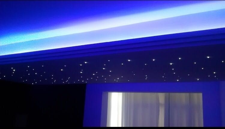 Céu estrelado dormitório