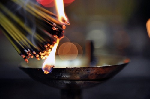 a fumigação, incenso, maçonaria