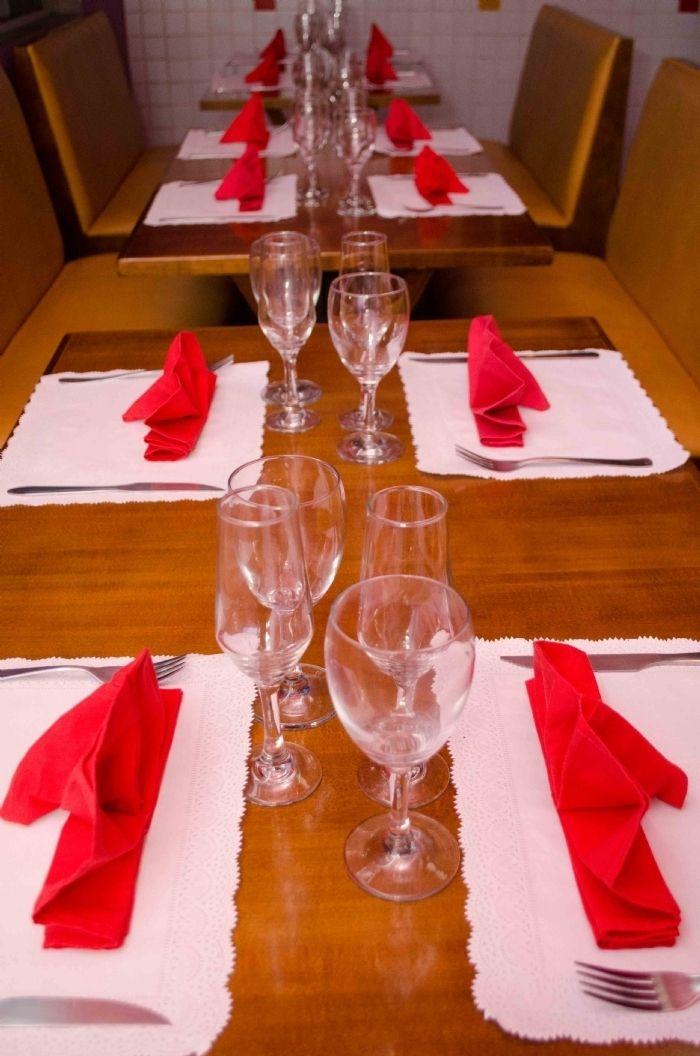 Jantar para eventos e empresas