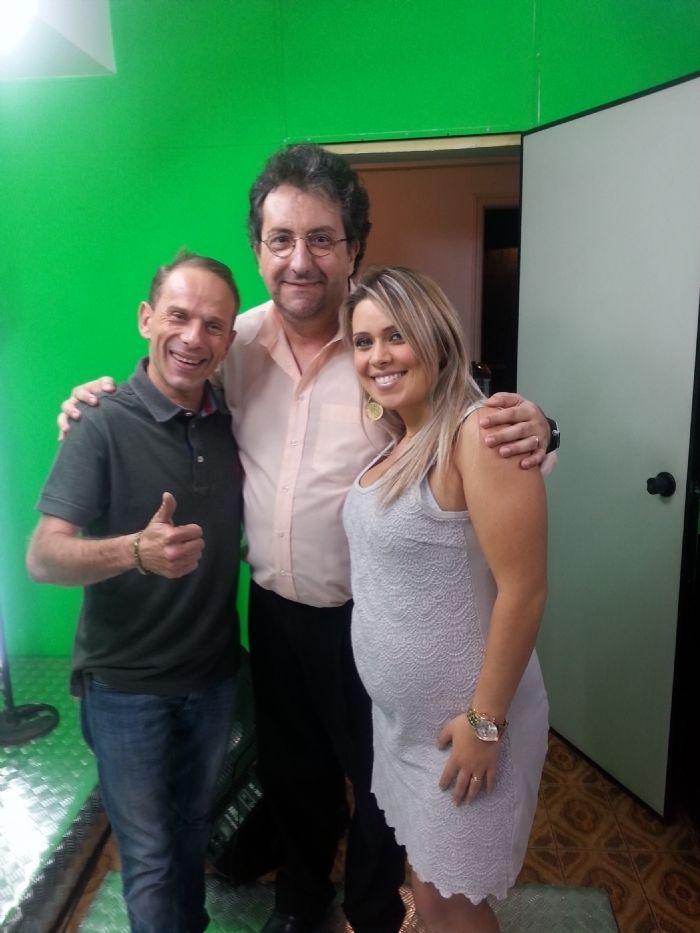 Psicólogo Fiuza com Rafael Ilha e esposa - Pgm Demorou - VaiTV.com.br